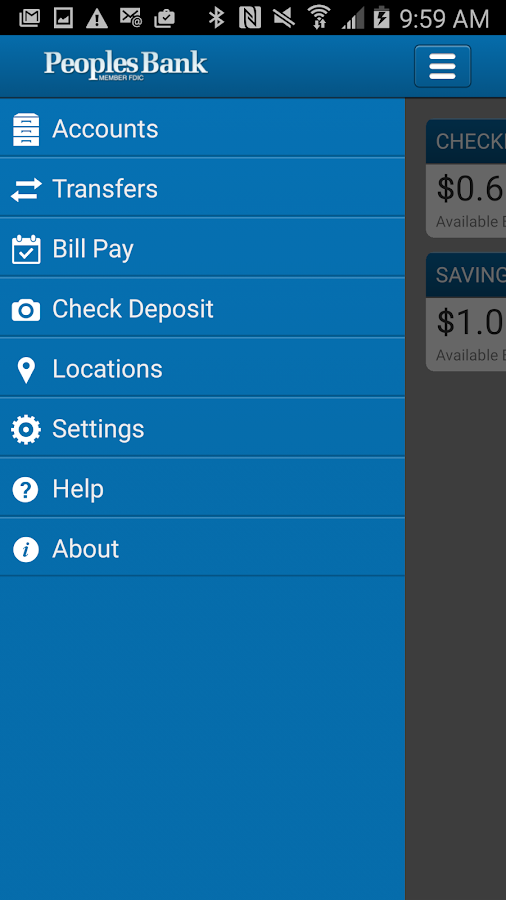 The Real Peoples Bank Mobile- screenshot