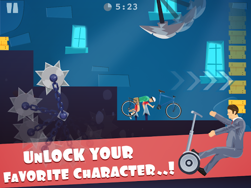 happy ride wheels game - screenshot