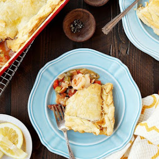 Jambalaya Pot Pie.