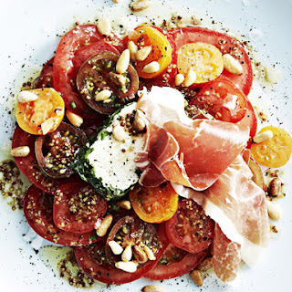 Goat Cheese and Tomato Salad