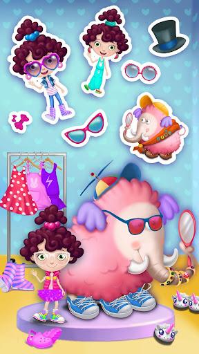 Miau2019s Secret Pet - Fluffy Pink Elephant Care 1.0.109 screenshots 2