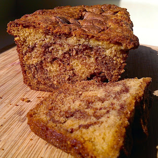 Cardamon and Cinnamon Coffee Cake Loaf