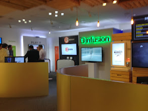 Photo: Infusion's experience lab, where we played after lunch. #nrf14