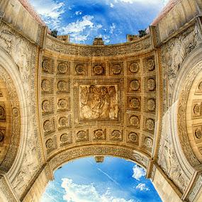 Arch Detail by Luca Libralato - Buildings & Architecture Statues & Monuments ( paris, famous landmarks, louvre, arch, france, monument )