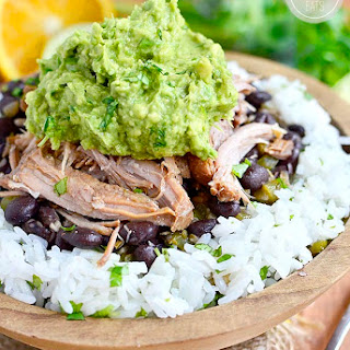 Crock Pot Mojo Pork with Cuban-Style Black Beans