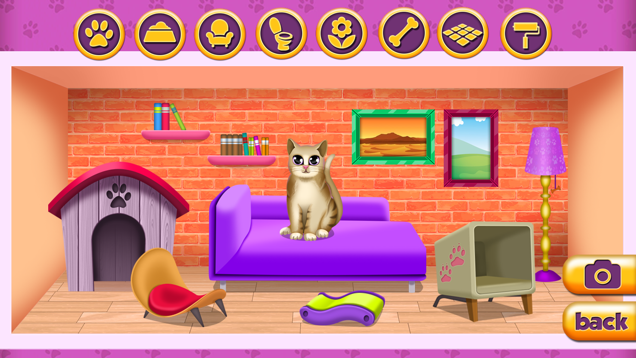 Pet House Game