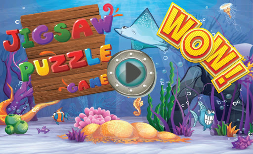 Fishy jigsaw Puzzles for kids