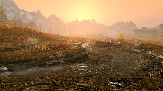 Skyrim: Special Edition PS4 Pro Supersampled Screenshots Match Photoshop Quality; Comparison With PC