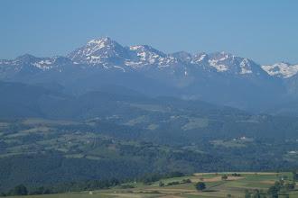 Photo: Vol dans les baronnies et magnifique vue sur le Pic du midi de Bigorre