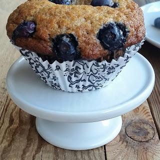 Classic Blueberry Banana Muffins