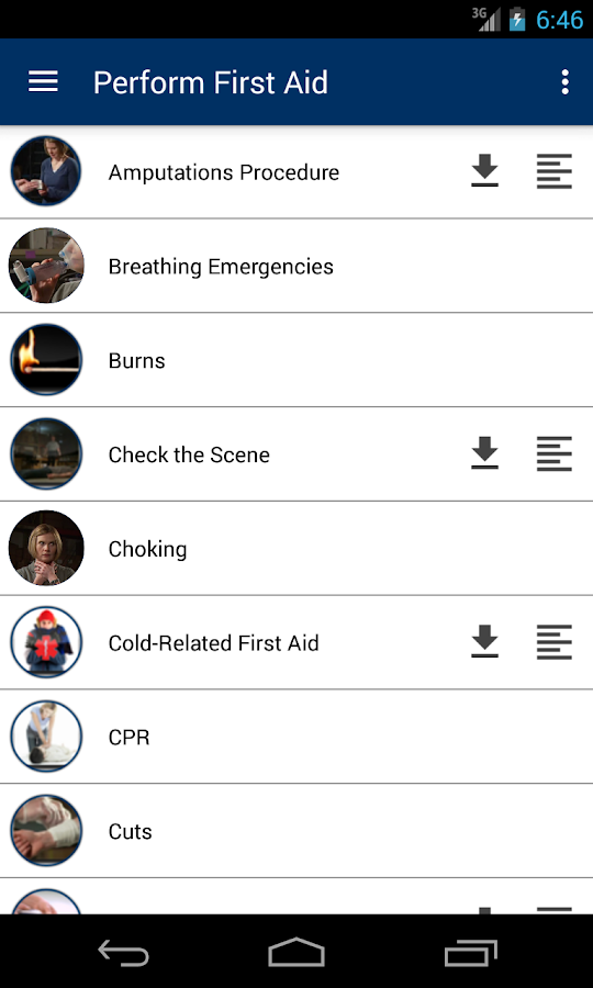 Advanced First Responder- screenshot