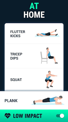 Lose Weight App for Men - Weight Loss in 30 Days screenshot 2