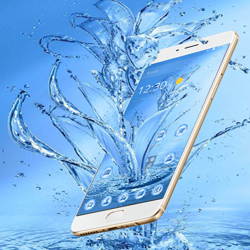 Fresh Water Flower Theme Android APK Download Free By Fantastic Design
