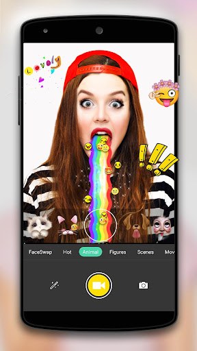 Face Camera-Snappy Photo Screenshot