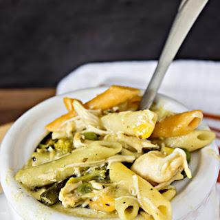 Crock Pot Chicken Noodle Casserole.