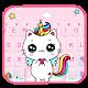 Rainbow Unicorn Cat Keyboard Theme Download for PC Windows 10/8/7