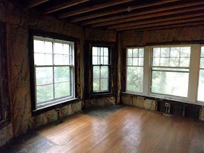 Photo: Part of Paul Harris living room