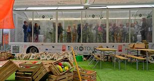 Imagen del invernadero móvil que se expondrá en Madrid