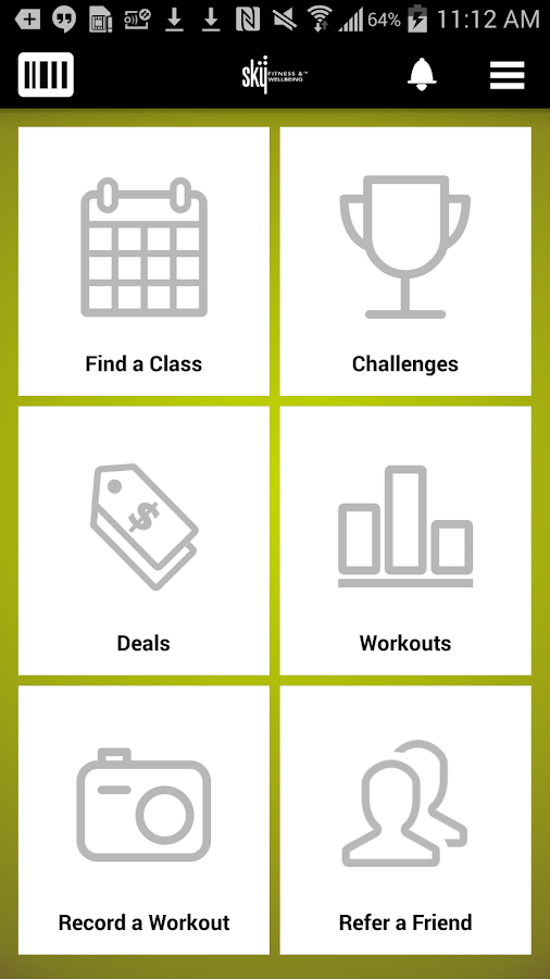 Sky Fitness and Wellbeing- screenshot