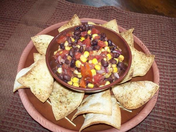 Quick & Easy Blackbean Chipotle Salsa Recipe