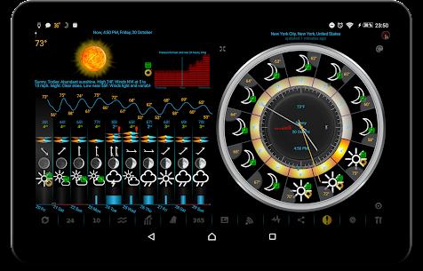 eWeather HD – clima, calidad del aire, terremotos 9