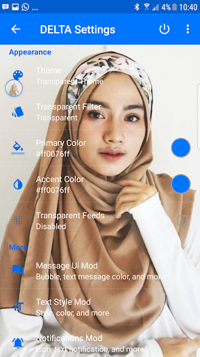 Transparan bbm Beauty 2018 for PC