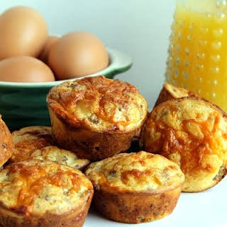 Sausage and Cheese Muffins.
