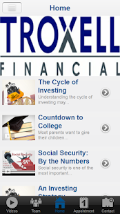 Troxell Financial Advisors- screenshot thumbnail