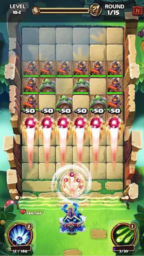 Hero War - Magic vs Monster Bounzy Brick Idle RPG apkdebit screenshots 19