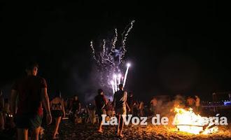 San Juan, noche de fuego y fiesta en la provincia