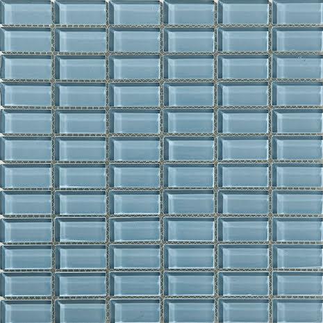T159 gloss 23x48mm, Box 0,9m2 Glas blank tjocklek 8mm