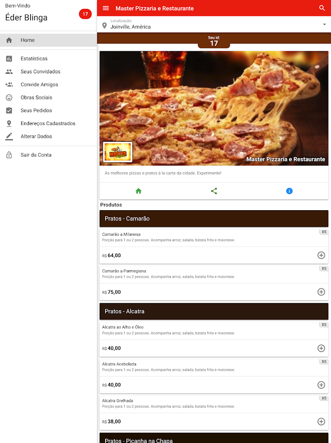 Master Pizzaria- screenshot