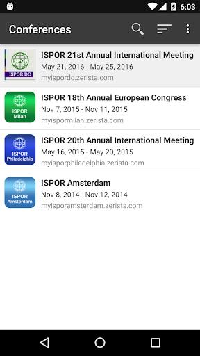 玩商業App|ISPOR 2015 Meetings免費|APP試玩