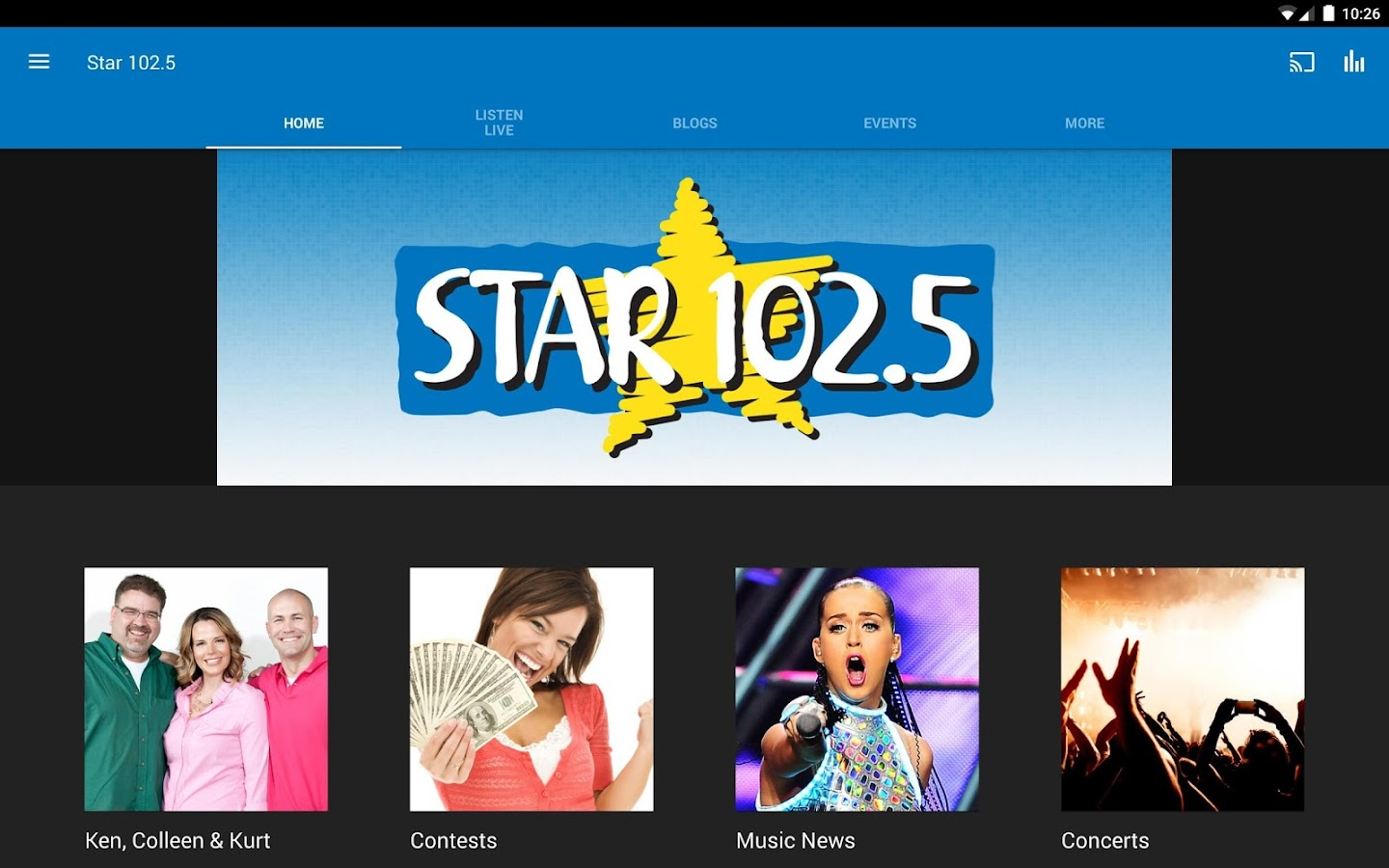 Star 102.5- screenshot