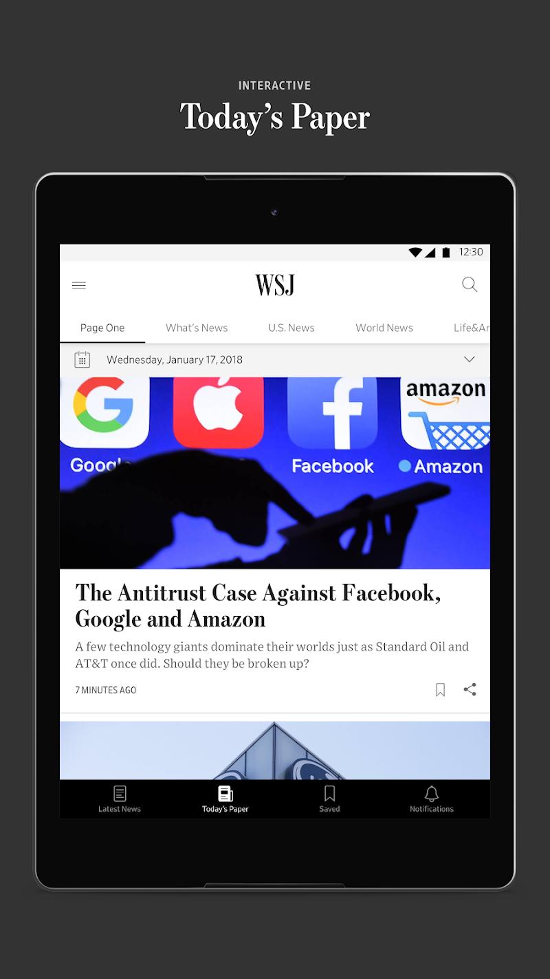 The Wall Street Journal: Business & Market News Screenshot 11