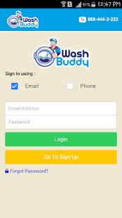 WashBuddy - náhled