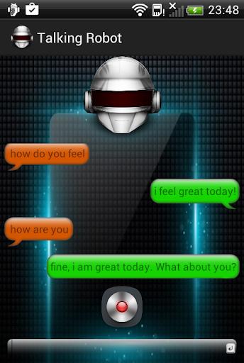 Talking Robot-Virtual Friend