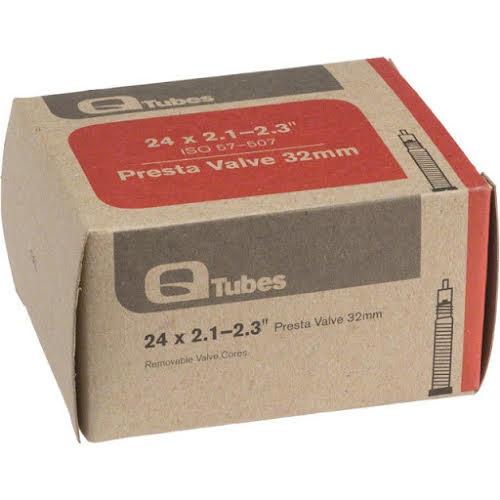"""Q-Tubes 24"""" x 2.1-2.3"""" 32mm Presta Valve Tube"""