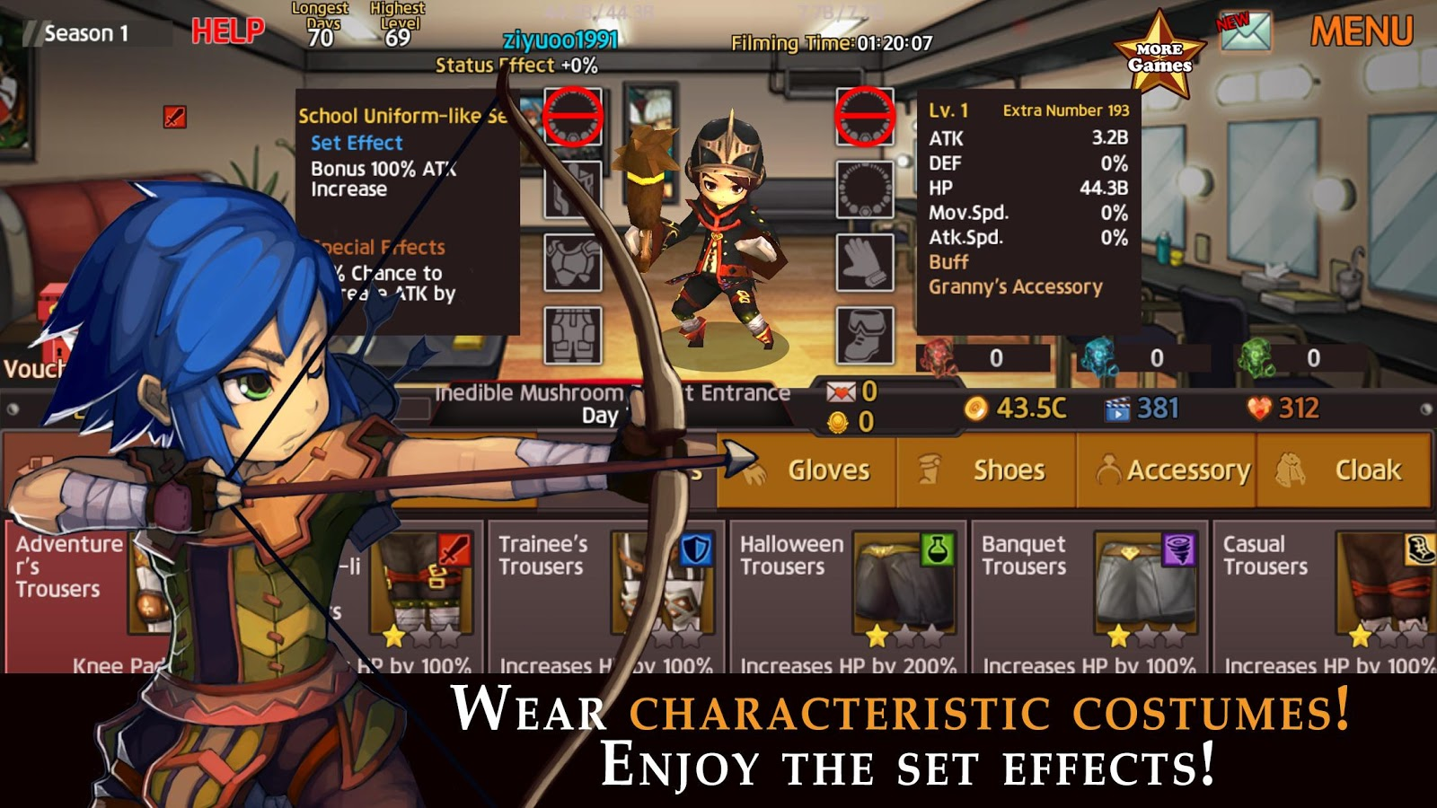 Hero TV : Idle RPG- screenshot