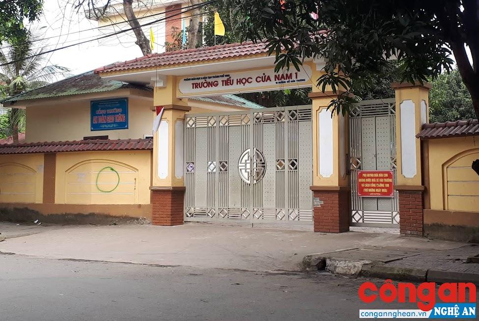 Trường Tiểu học Cửa Nam 1, nơi xảy ra vụ việc