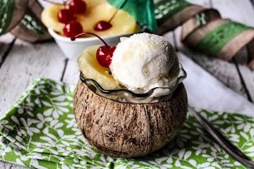 Pina Colada Sherbet Recipe