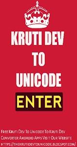 Download Kruti Dev To Unicode converter APK latest version app for