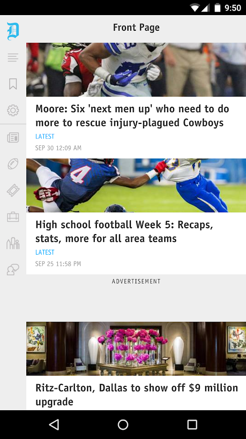 The Dallas Morning News- screenshot