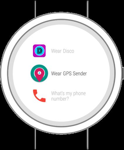 Wear GPS Sender