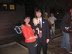 Photo: Sarah Palin, First Dude and son