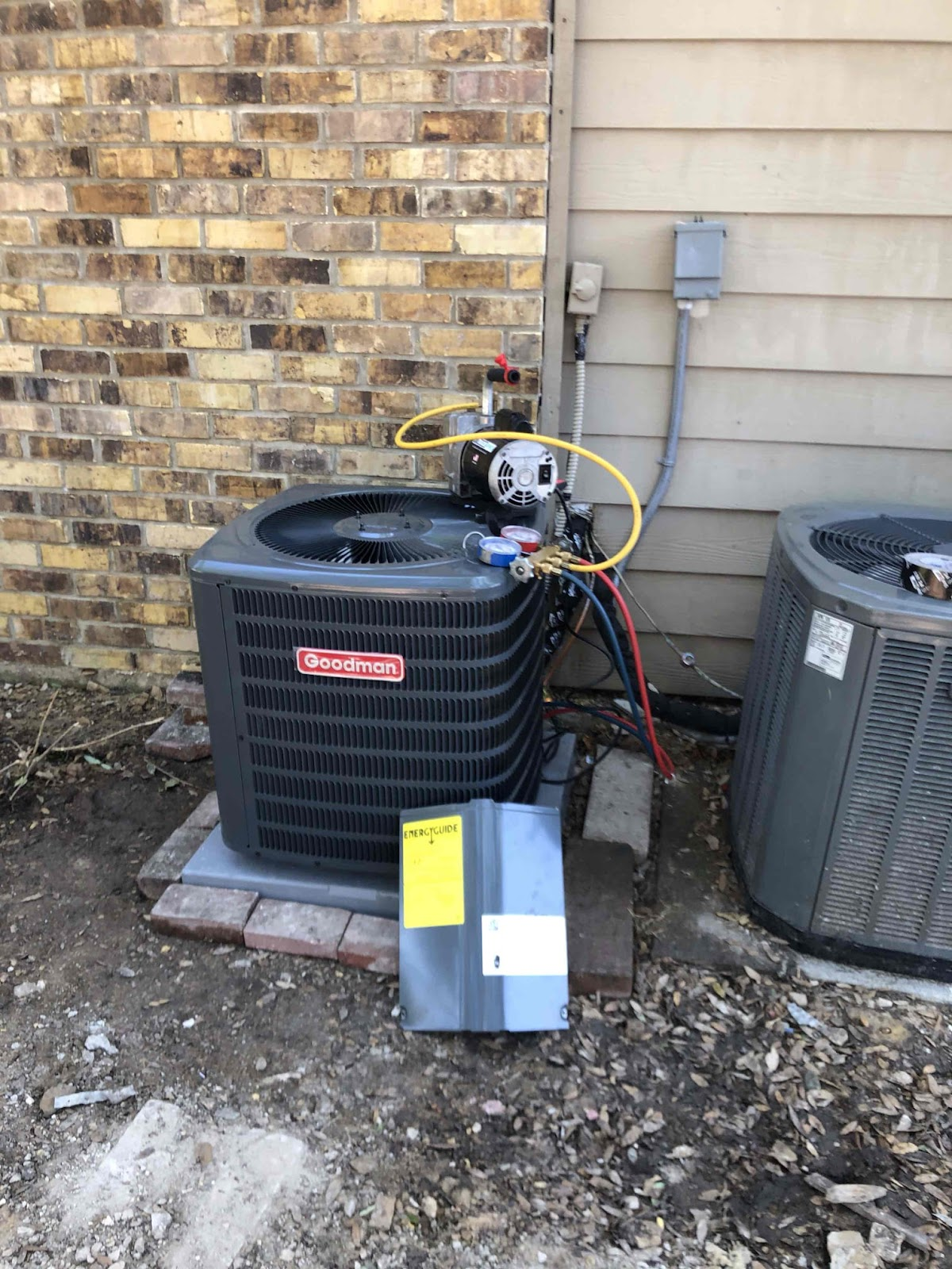 Aire Serv Richardson air conditioning installation