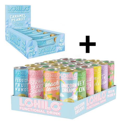 24 X Lohilo BCAA Dryck + 12 X Lohilo Bars