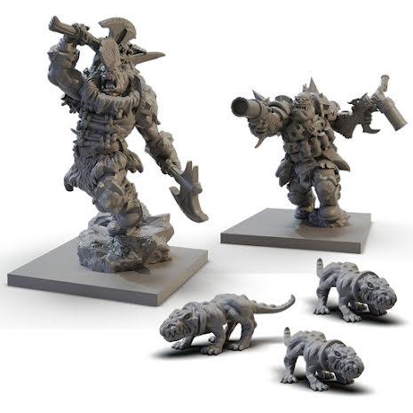 VANGUARD: Ogre Warband Booster