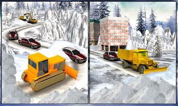 Winter Snow Rescue Excavator - screenshot thumbnail 06