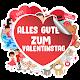 Download Alles Gute zum Valentinstag Aufkleber For PC Windows and Mac